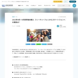 携帯端末購入に関する定点調査(購入編)
