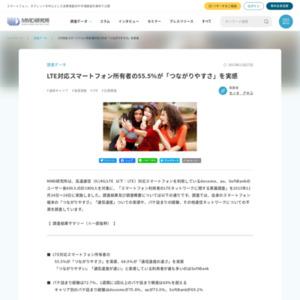 スマートフォン利用者のLTEネットワークに関する意識調査