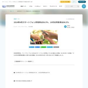 2014年4月携帯端末購入に関する定点調査