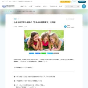 2014年子供を持つ母親の携帯電話・スマートフォンに関する意識調査