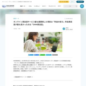 オンライン英会話に関する利用実態調査