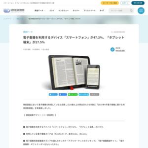 2015年4月電子書籍に関する利用実態調査