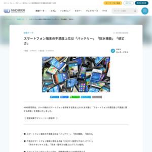 スマートフォンの満足度と不満度に関する調査