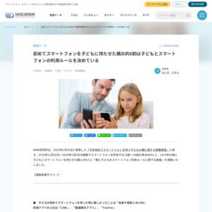親と子どものスマートフォン利用ルールに関する調査