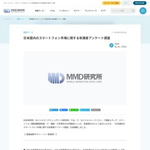 日本国内のスマートフォン市場に関する有識者アンケート調査
