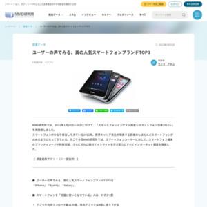 スマートフォンインサイト調査~スマートフォン白書2012~