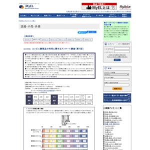 コンビニ調理品の利用に関するアンケート調査(第7回)