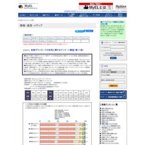 音楽ダウンロードの利用に関するアンケート調査(第11回)