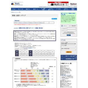 新聞の利用に関するアンケート調査(第6回)