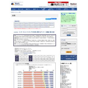 インターネットバンキングの利用に関するアンケート調査(第20回)