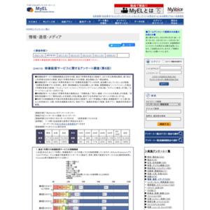 映像配信サービスに関するアンケート調査(第6回)