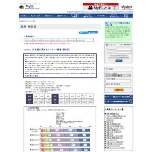 日本酒に関するアンケート調査(第6回)