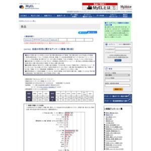 缶詰の利用に関するアンケート調査(第3回)