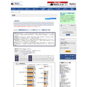 損害保険会社のイメージに関するアンケート調査(第13回)