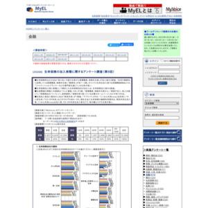 生命保険の加入実態に関するアンケート調査(第9回)