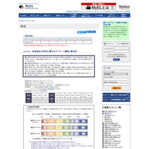 冷凍食品の利用に関するアンケート調査(第9回)