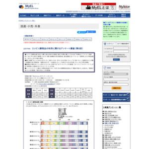 コンビニ調理品の利用に関するアンケート調査(第8回)