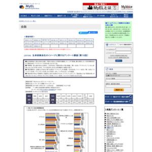生命保険会社のイメージに関するアンケート調査(第16回)