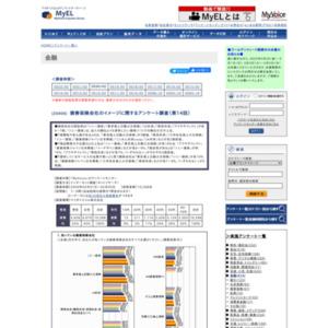 損害保険会社のイメージに関するアンケート調査