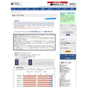 オンラインショッピングの利用に関するアンケート調査(第16回)