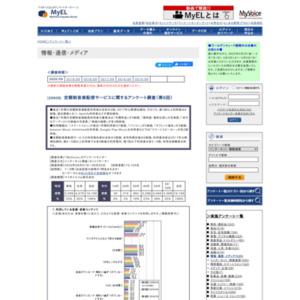 定額制音楽配信サービスに関するアンケート調査(第6回)