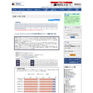 オンラインショッピングの利用に関するアンケート調査(第17回)