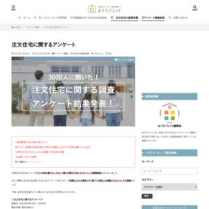 注文住宅に関するアンケート