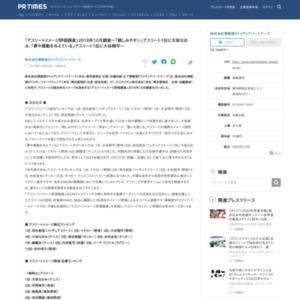 「アスリートイメージ評価調査」2018年10月調査