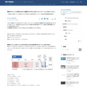 日本国内の会社員の働き方とストレス・生産性との関係を調査