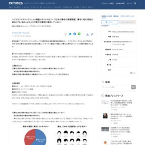 日本の薄毛の実態調査 アイランドタワークリニック