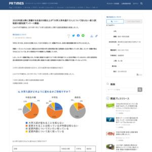 「大学入試改革」に関する認知度調査