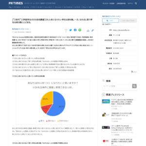 """""""Z世代""""工学部学生のDX志向調査"""