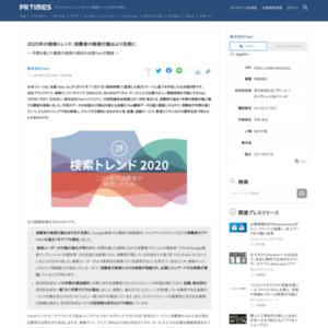 2020年の検索トレンド:消費者の検索行動はより活発に