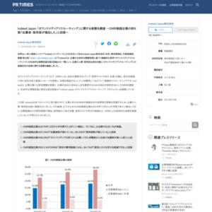 Indeed Japan 「オウンドメディアリクルーティング」に関する実態を調査