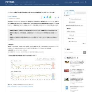 【アットホーム調査】地場の不動産仲介業における景況感調査(2019 年10~12 月期)