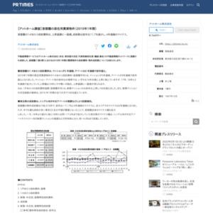 【アットホーム調査】首都圏の居住用賃貸物件(2019年1年間)