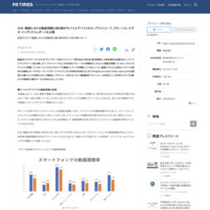 ブライトコーブ、グローバル・ビデオ・インデックスレポートを公開