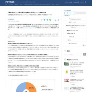 介護現場の労働環境に関するアンケート調査