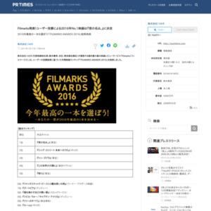 ユーザー投票による2016年No.1映画