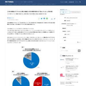 大学の業務のデジタル化に関する調査