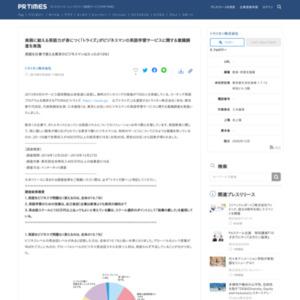 東京にお住いのビジネスマンの英語学習サービスに関する意識調査