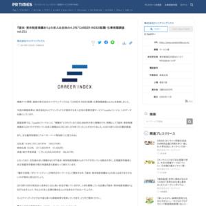 CAREER INDEX転職・仕事実態調査vol.23