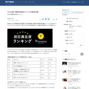 映画初日満足度ランキング(3月第2週)