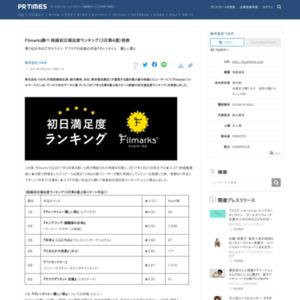 映画初日満足度ランキング(3月第4週)
