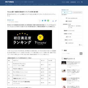 映画初日満足度ランキング(4月第1週)