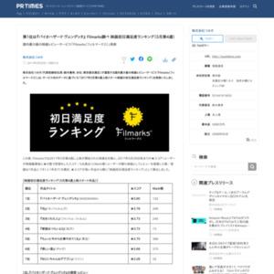 映画初日満足度ランキング(5月第4週)