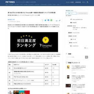 映画初日満足度ランキング(6月第3週)