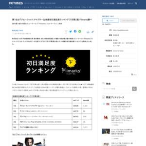映画初日満足度ランキング(7月第2週)