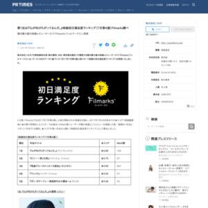 映画初日満足度ランキング(7月第4週)