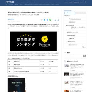 映画初日満足度ランキング(12月第1週)